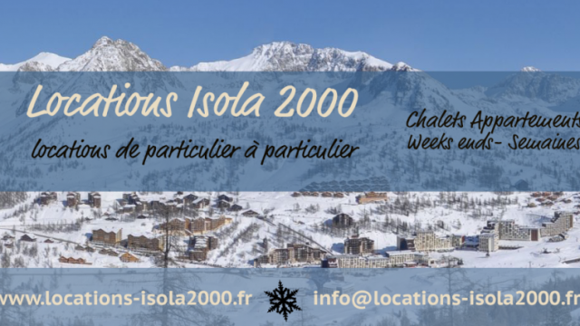 Locations isola 2000 isola 2000 station du mercantour - Isola 2000 office de tourisme ...