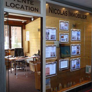 Nicolas Immobilier façade