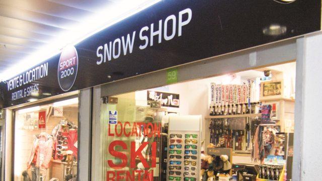 photo snow shop