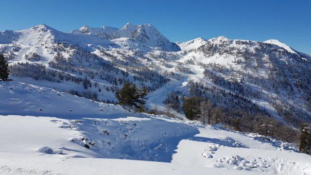 pistes neige