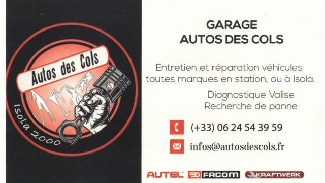 Garage Autos des Cols